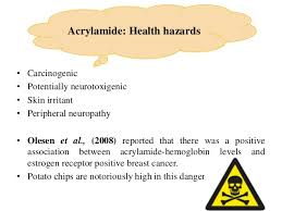 Acrylamide Health Hazards 8