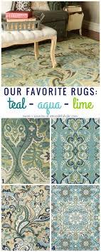 Best 25 Aqua rug ideas on Pinterest