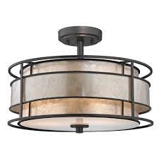 Low Profile Ceiling Fans Flush Mount by Lighting Design Ideas Black Semi Flush Mount Ceiling Light Flush