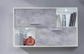 hängeschrank in beton weiss schrank regal grau vitrine