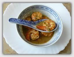 cuisiner avec du gingembre gambas aromatisées à la citronnelle et au gingembre frais