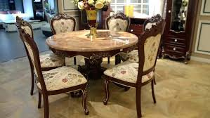 Decoration Dining Antique Marble Top Table Luxury Style Large 6 Plus Room Furniture For Sale
