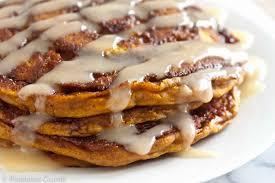 Pumpkin Cake Mix Pancakes by Pumpkin Cinnamon Roll Pancakes Pixelated Crumb