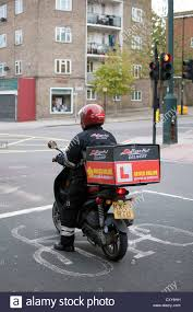Pizza Hut Delivery Motorcycle