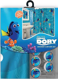 Finding Nemo Bath Towel Set by Amazon Com 13pc Disney Finding Nemo U0027s Dory Shower Curtain And
