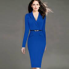 2016 Aliexpress Europe New Winter Dress And Hot Pencil Skirt Suit Collar