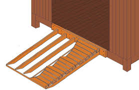outdoor wood storage shed u2013 ramp tips to avoid a fatal injury
