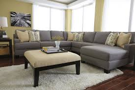 sofa gray sectional living room oversized sectional sofa gray