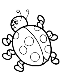 Click To See Printable Version Of Cute Ladybug Coloring Page