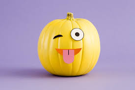 Pumpkin Carving Throwing Up Templates by Make Diy Emoji Pumpkins With Our Free Printables Brit Co