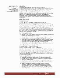 Psychiatric Nursing Resume Examples Awesome Registered Nurse Sample Elegant Agreeable Outpatient Clinic Of Top