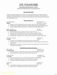 How To Include Internship On Resume Example Fresh Examples For Golf Professional Unique Clubhouse Manager