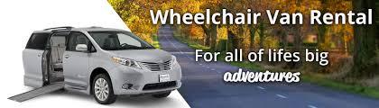 Wheelchair Van Rental Illinois   Personal Mobility