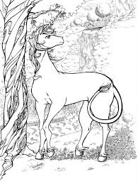 Holiday Coloring Online Unicorn Pages For Adults In Pages24