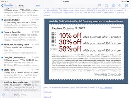 Yankee Candle - Will Not Honor Their Coupon Feb 04, 2018 ... Free Walgreens Photo Book Coupon Code Yankee Candle Company Will Not Honor Their Feb 04 2018 Woodwick Candle Pet Hotel Coupons Petsmart Buy 3 Large Jar Candles Get Free Life Inside The Page Coupon Save 2000 Joesnewbalanceoutlet 30 Discount Theatre Red Wing Shoes Promo Big 10 Online Store 2 Get Free Valid On Everything Money Saver Sale Fox2nowcom Kurios Cabinet Of Curiosities Edmton Choice Jan 29 Retail Roundup Ulta Joann Fabrics