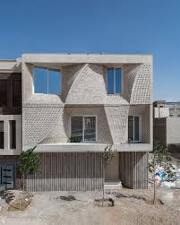 100 Travertine Facade CAAT Studios Home For A Stoneseller In Iran Is A