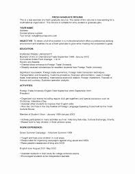 Recent Psychology Graduate Resume Sample Unique Awesome Collection Cover Letter For Example