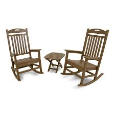 Shop Trex Outdoor Furniture Yacht Club 3 Piece Plastic Patio ...