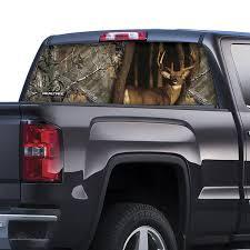 100 Realtree Truck RTWFWTXT Whitetail Window Film Graphic Xtra Camo