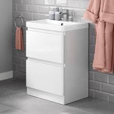 Buy 304 Stainless Steel Bathroom Cabinet White Flower 60cm120cm
