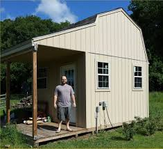 12x12 Shed Plans Pdf by Davids Barn Shed With Porch Outdoor Shed Pinterest Barn