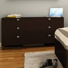 South Shore 6 Drawer Dresser Espresso by South Shore Karma 6 Drawer Double Dresser U0026 Reviews Wayfair