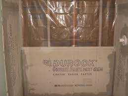 Hardie Tile Backer Board Fire Rating by Bathroom Lowes Shower Tile Shower Waterproofing Membrane