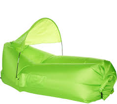 PouchCouch Inflatable Couch W/Sun Shade & Pockets Shade ... Bean Bag Chair Bed With Pillow And Blanket Cordaroys Full Size Convertible By Lori Greiner With Jill Bauer Ultrasonic 605 Jewellery Cleaner Digital Timer Qvc Uk How Do You Get On Some Tips From Tpreneur And Index Of Qvc2018 Queen Cover Plush Velour Charlie Bears Elisha Panda Exclusive Is Amanda Holdens New Bundleberry Collection For Her Round Bags For Boats Marine Chairs E Style Couch Edited Erica Davies Tropical Print Inoutdoor Sofa Tips