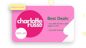 Charlotte Russe Free Shipping Coupon 2019 25 Off Lmb Promo Codes Top 2019 Coupons Promocodewatch Citrix Promo Code Charlotte Russe Online Coupon Russe Code June 2013 Printable Online For Charlotte Simple Dessert Ideas 5 Off 30 Today At Relibeauty 2015 Coupon Razer Codes December 2018 Naughty Coupons Him Fding A That Actually Works Best Latest And Discount Wilson Leather Holiday Gas Station Free Coffee Edreams Multi City
