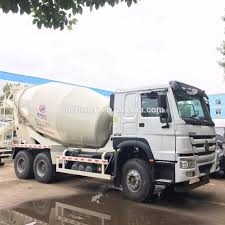 100 Concrete Mixer Truck For Sale New Euro 2 Diesel 336hp 8m3 Howo 64