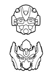 Coloring Pages Printable Transformers Masks
