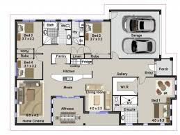 Simple House Plans Ideas by Simple House Plan With 4 Bedrooms House Plan Ideas House Plan