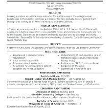 Pediatric Nurse Resume Nursing Practitioner Examples Mmventuresco