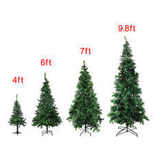 4 6 7 98 Feet Tall Christmas Tree W Stand Holiday Season