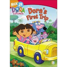 dora the explorer dora s first trip dvd video target