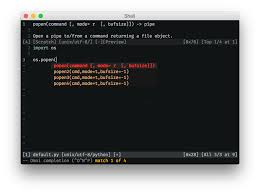 Python Decorators With Arguments by Autocompletion Argument Completion For Python Vi And Vim Stack