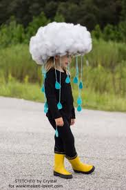 Diy Jellyfish Costume Tutorial 13 by Make A Quick U0026 Easy Rain Cloud Costume For All Ages Via Www