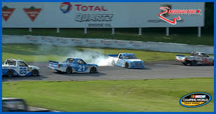 Ben Rhodes Spins In NASCAR Overtime | NASCAR.com Arca Champs Briscoe And Enfinger Duel In Nascar Trucks Race At Xfinity Series Gander Outdoors Truck Return 2018 Camping World Race Winners Nascarcom Ryan Truex To Full Schedule 2017 Auto Racing 2014 Season Review Motsportstalk Set Take On High Banks Of Bristol Sports Sets Stage Lengths For Every Cup Christopher Bell Finishes Off Dominant Win Atlanta The Old Mosport Gets Truck My Cars Five Drivers Who Should Run At Eldora