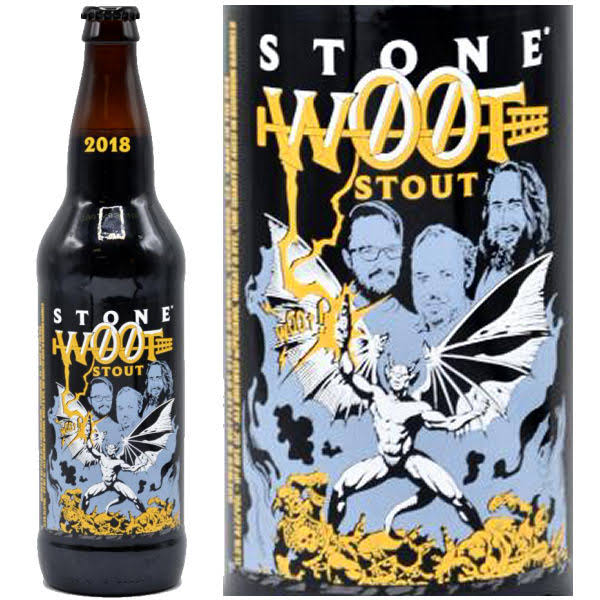 Stone W00t Stout - 22 fl oz bottle