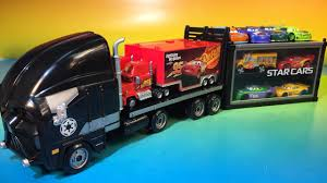100 Jackson Truck And Trailer Disney Cars 3 Tomica Lightning Mcqueen And Tomica Star Cars Truck