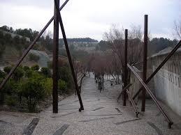 100 Enric Miralles Architect Igualada Cemetery Barcelona Ure