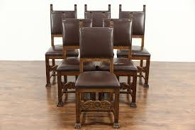 Italian Renaissance 1900 Antique Set Of 6 Dining Chairs, Leather Upholstery Wayfair Black Friday 2018 Best Deals On Living Room Fniture Tag Archived Of Upholstered Parsons Ding Chairs 88 Off Carved Cherry Wood Set With Leather Tables Marvelous Diy Tufted Restoration White Genuine Kitchen Youll Love In 2019 Chair New Upholstery Shop Indonesia Classic Lion With Buy Fnitureclassic Ftureding Natural Lisette Of 2 By World 4x Grey Ding Jovita Faux A Affordable Italian Renaissance 1900 Antique 6
