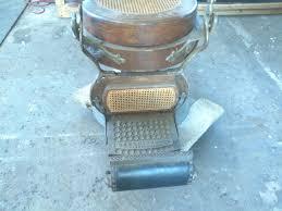 Antique Barber Chairs Craigslist by Antique 1901berninghaus Wooden Barber Shop Chair Obnoxious Antiques