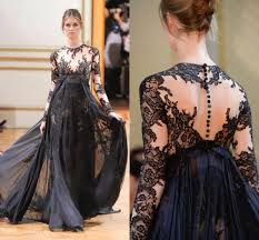 compare prices on zuhair murad black dress lace online shopping