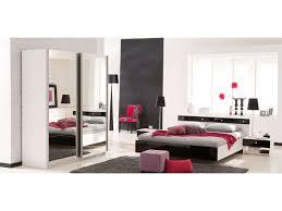 chambre complete adulte conforama lit 2 personnes 140 x 190 cm strass coloris blanc noir laqué