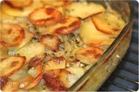 cuisiner la pomme de terre pommes de terre au four aux oignons ultra fondants la cuisine de dali