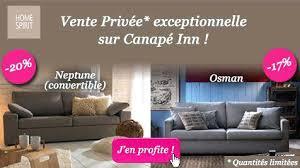 vente privée de canapé ventes privees canape vente privee home spirit dangle t one co