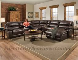 Broyhill Laramie Microfiber Sofa In Distressed Brown by New Serta L Shaped Sectional In A Bright Red Vinyl Leather Fabric