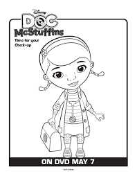 Doc McStuffins Printable Coloring Pages For You Today Simply Right Click On The Page Images Below That Wish To Print