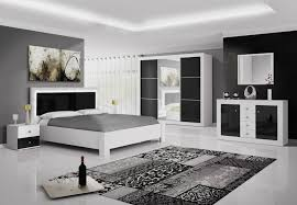 chambre blanche et cuisine chambre adulte design blanche et noir traviata chambre
